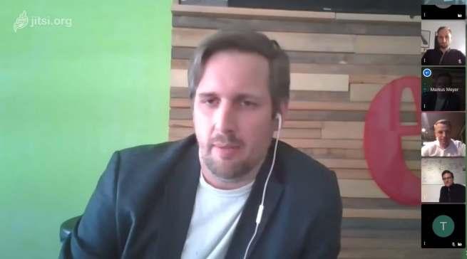 Mit dabei: Markus Meyer (CDO Eismann).