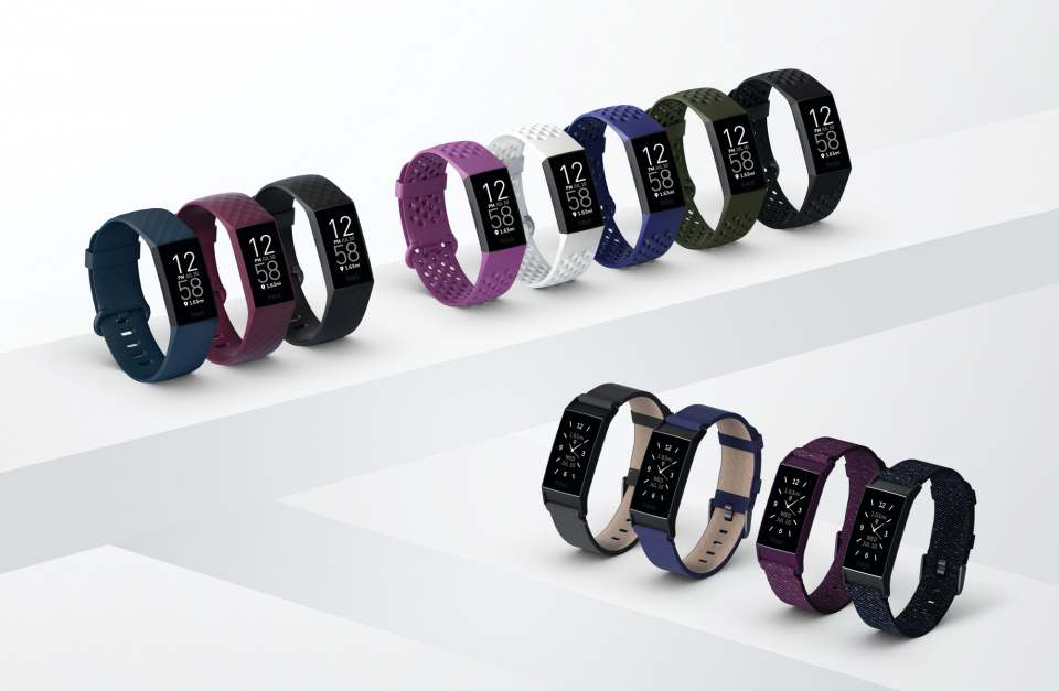 Fitbit Fitness-Armband Charge 4 mit integriertem GPS.