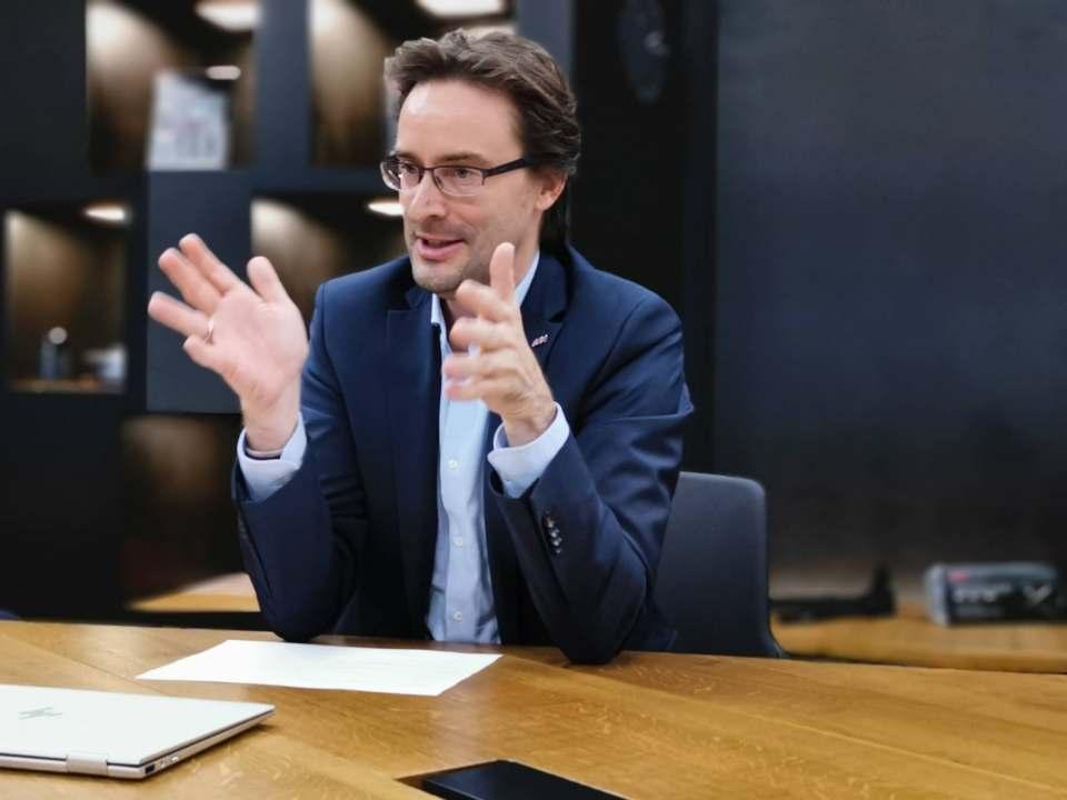 """""""Wir planen unser Angebot für Händler um virtuelle Rundgänge zu erweitern, sodass wir auch Interessenten willkommen heißen, die nicht persönlich vor Ort sein können"""", sagt Michael Geisler."""
