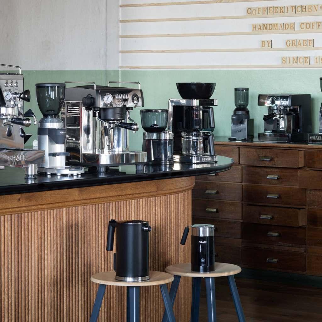 """Graef unterstützt die Fachhändler ab sofort mit einem Dropshipping-Angebot sowohl für die """"Kaffeeküche""""…"""