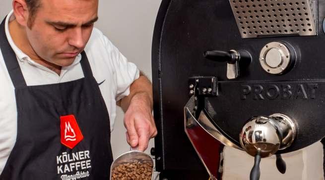 """""""Bei uns ist Kaffee kein anonymisiertes Massenprodukt"""", erklärt. Georg Hempsch"""