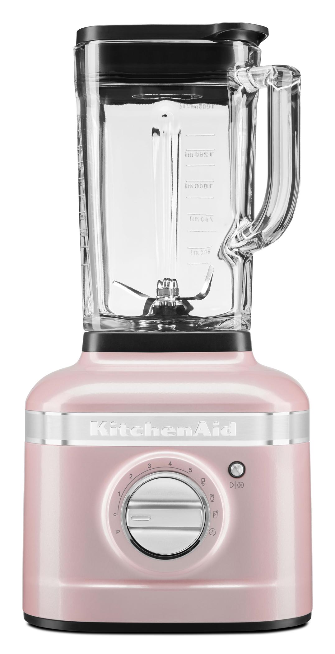 <h1>KitchenAid Standmixer Artisan K400</h1><h3 style='font-size: 20px; margin: 0px 0px 15px 0px;'> -1,5 PS Motor, 5 Geschwindigkeitsstufen, Rezeptprogramme</h3>