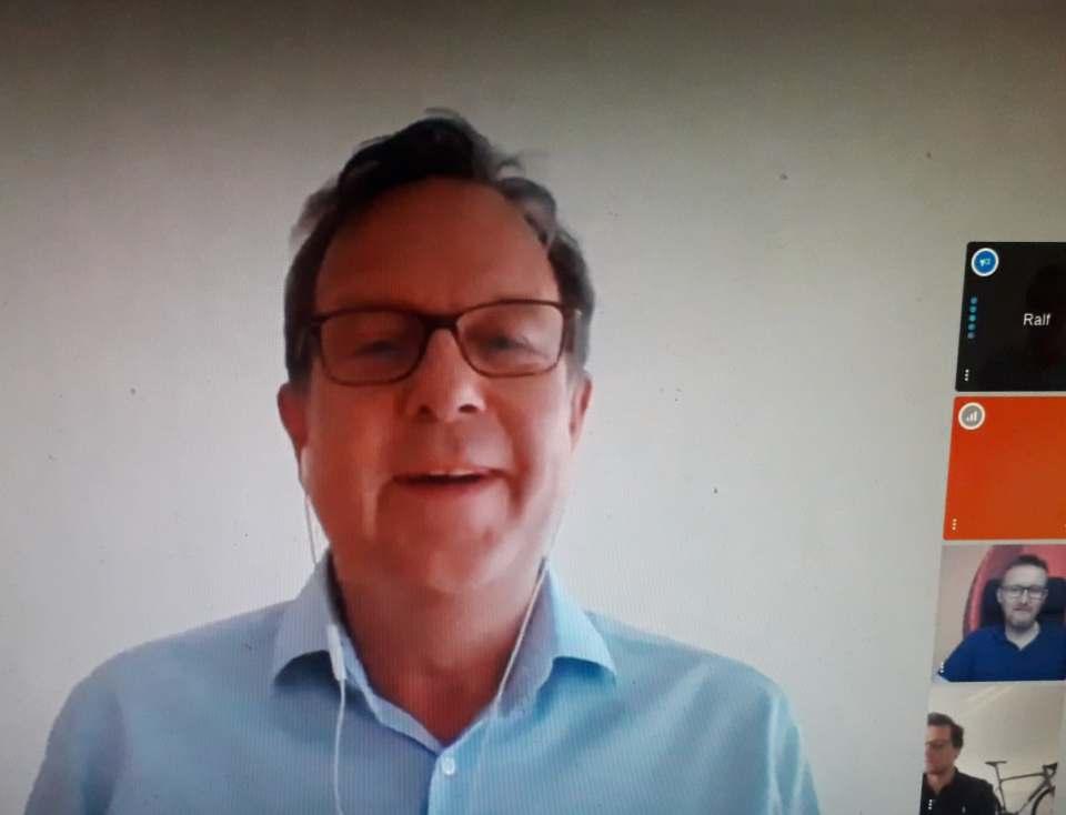 """""""Wir wollen stets da sein, wo der Kunde ist"""", Ralf Kleber, Country Manager Amazon.de."""