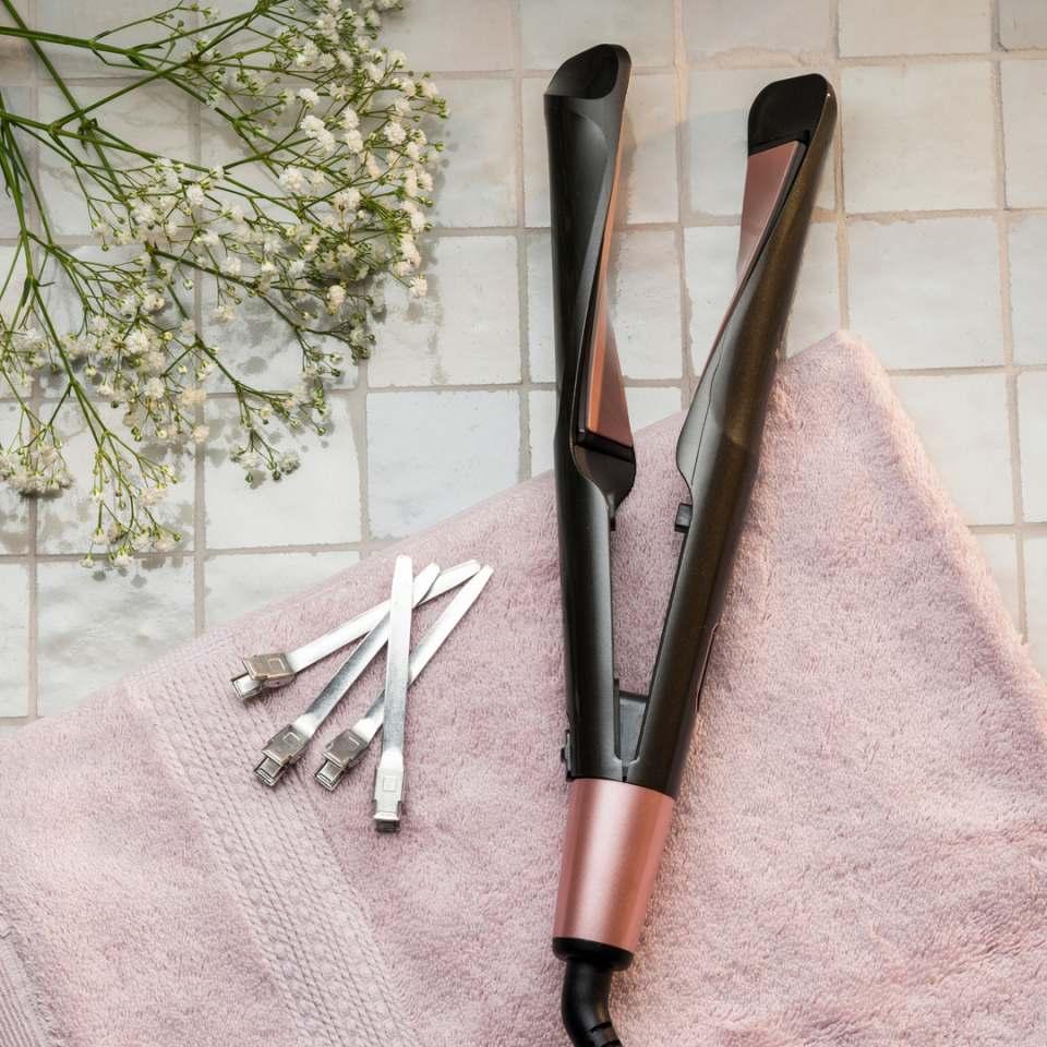 Remington Haarglätter Curl & Straight Confidence S6606 ohne Mikrokamm.