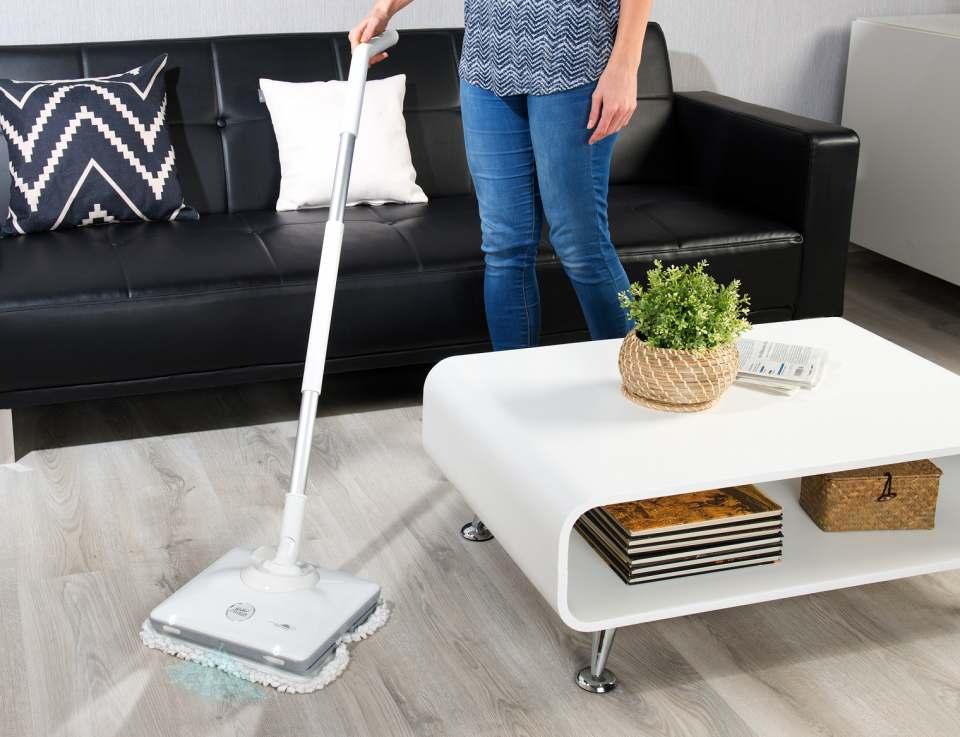 Sichler Fußboden-Poliermaschine FPM-900 mit Sprüh-Funktion.