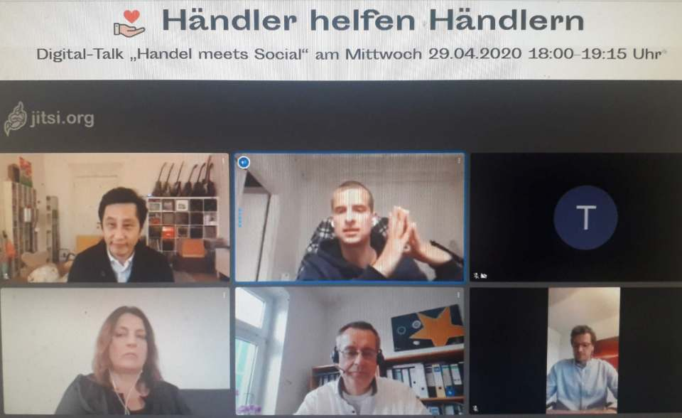 """Handel meets Social"" als großes Thema bei ""Händler helfen Händlern""."