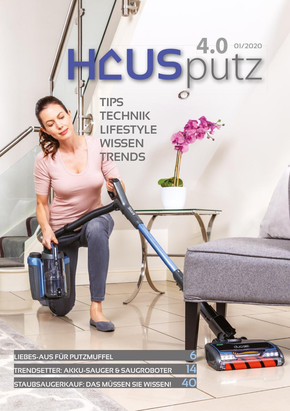 Titelseite Hausputz 4.0 / 2020