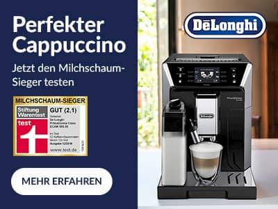 In der Krise verstärkt De'Longhi seine Marketingaktivitäten.