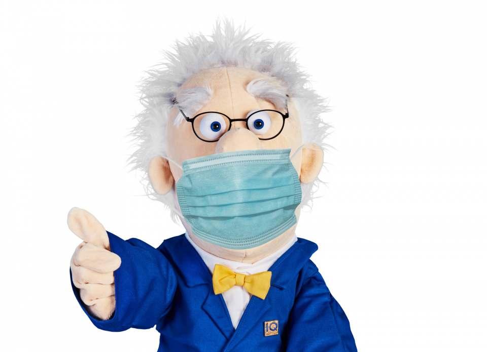 telering Professor IQ mit Atemschutzmaske