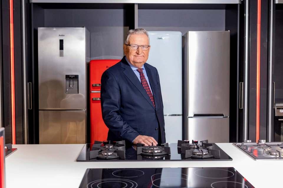 Jacek Rutkowski, CEO der Amica Gruppe, übernimmt die Führung der deutschen Amica International, bis eine Nachfolge gefunden ist.