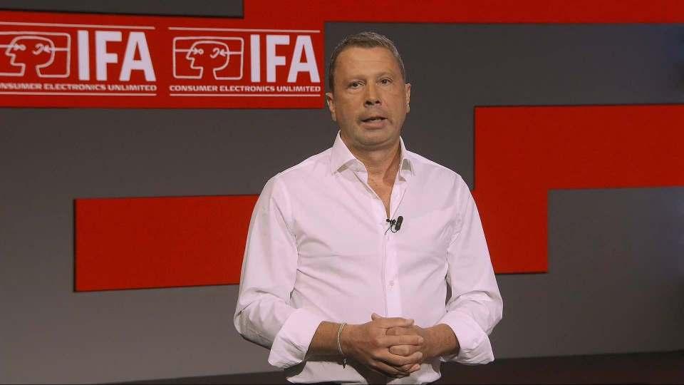 """""""Der Re-Start unserer Branche beginnt hier auf der IFA Berlin"""", Jens Heithecker, Executive Director der IFA."""