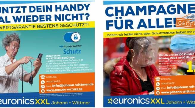 Eine Mischung aus Entertainment und Produktnews, die beim Verbraucher ankommt und branchenweit für Aufmerksamkeit sorgt: Euronics XXL Johann + Wittmer.