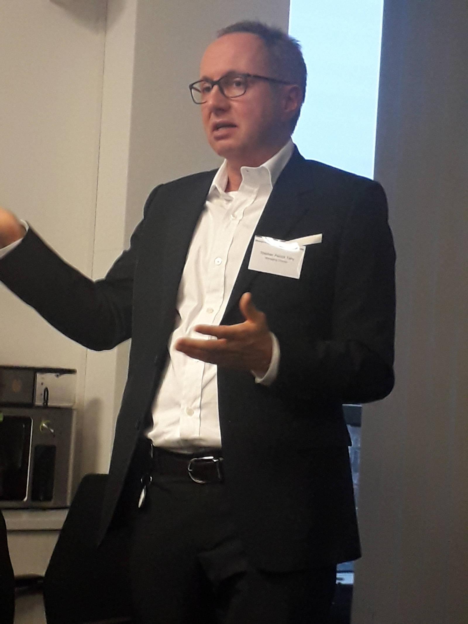 Stellt sich nach vier Jahren auf dem Chefsessel von De'Longhi Deutschland einer neuen Herausforderung: Stephan Tahy.