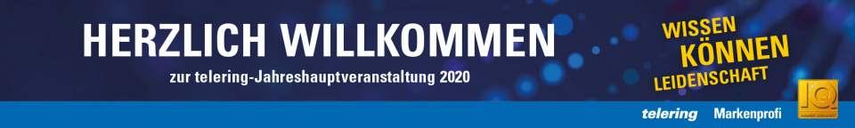 Telering Willkommen Jahreshauptversammlung 2020