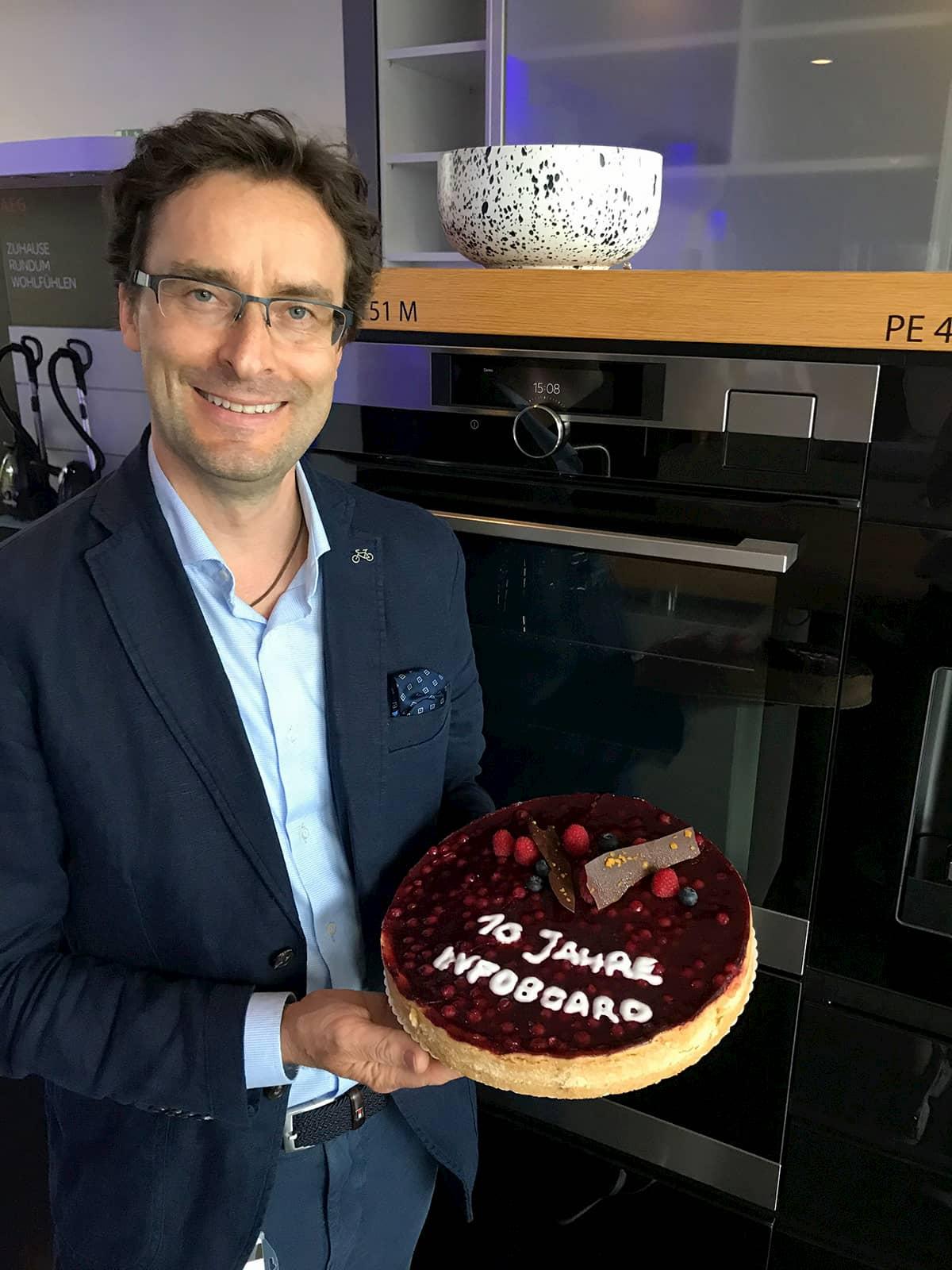Michael Geisler, Geschäftsführer Deutschland & Österreich, Electrolux Hausgeräte GmbH