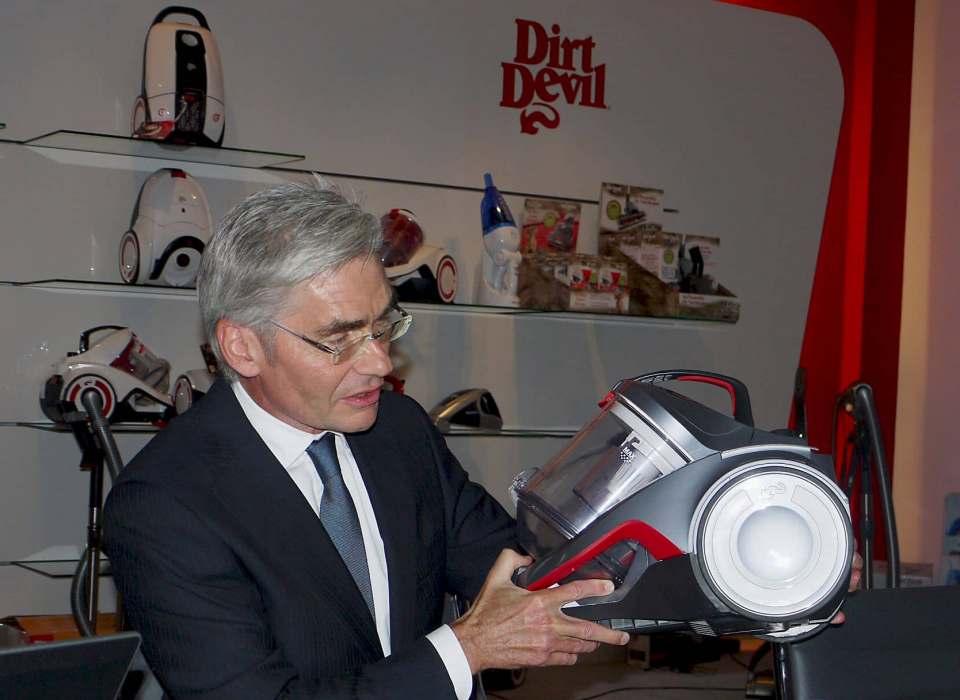 Heinz H. Fischer (Active M&A Experts GmbH, Düsseldorf) war u.a. Geschäftsführer von Royal Appliance International (unser Foto zeigt ihn im Jahr 2014) und Dyson Deutschland.