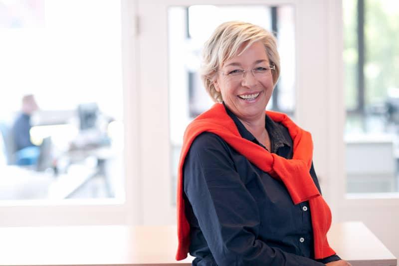 Ute Fischer führt das Unternehmen Bürobedarf Rohlmann (Rheine) in der 3. Generation.