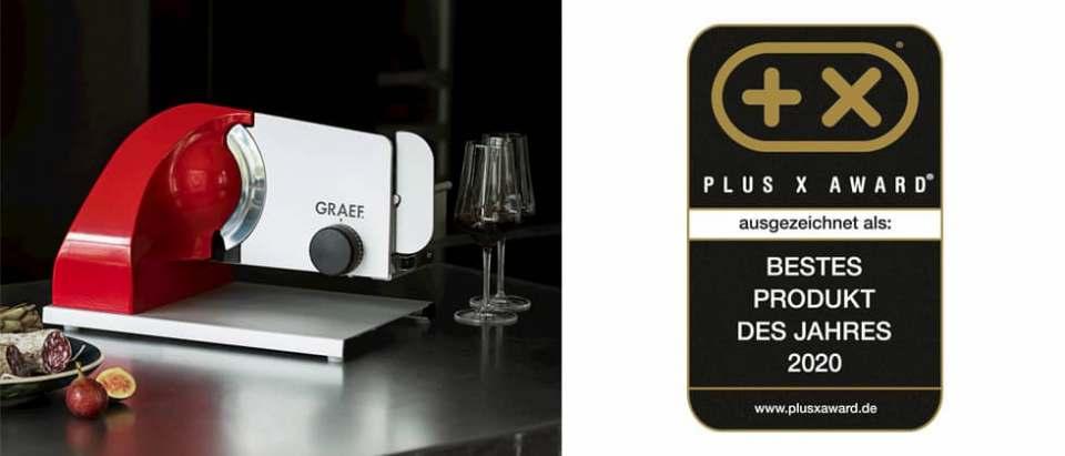 Mit Preisen überschüttet: Graef räumt beim Plus X Award ab.