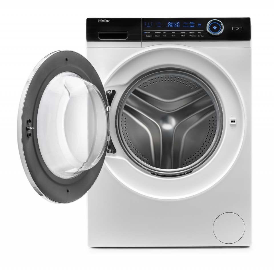 Haier Waschmaschine Serie I-Pro 7 mit 8 kg Fassungsvermögen.
