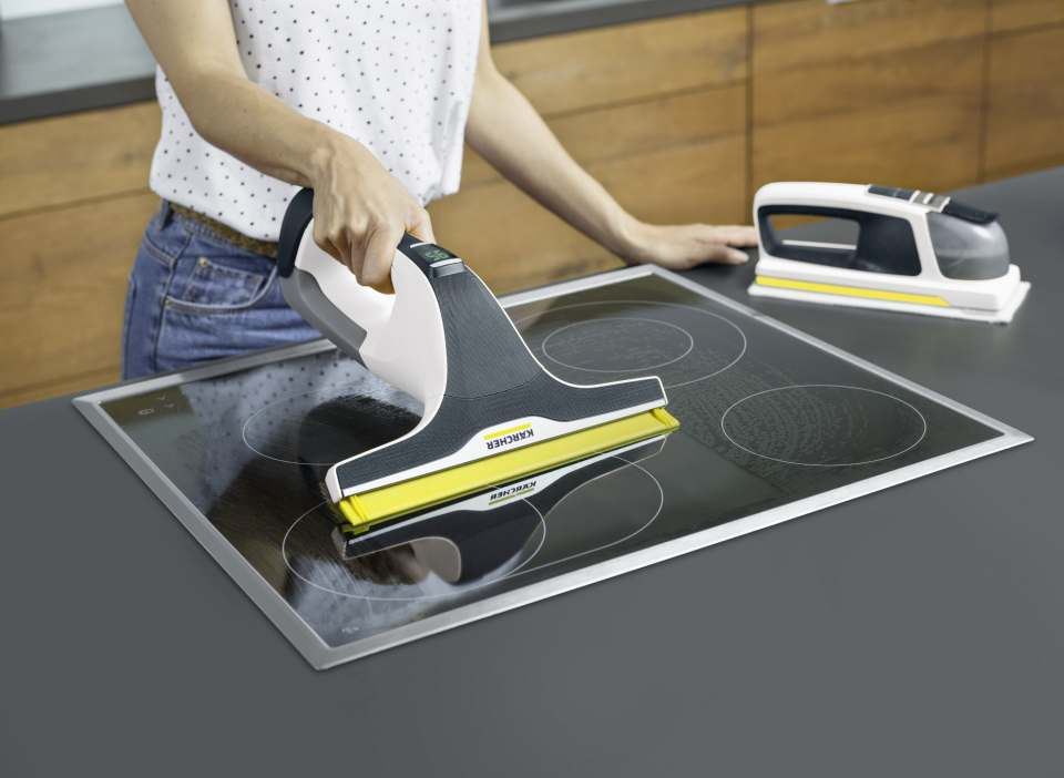 """Neben einer """"Sauglippen""""-Technologie hat Kärcher den WV 6 mit vielen innovativen Features ausgestattet."""