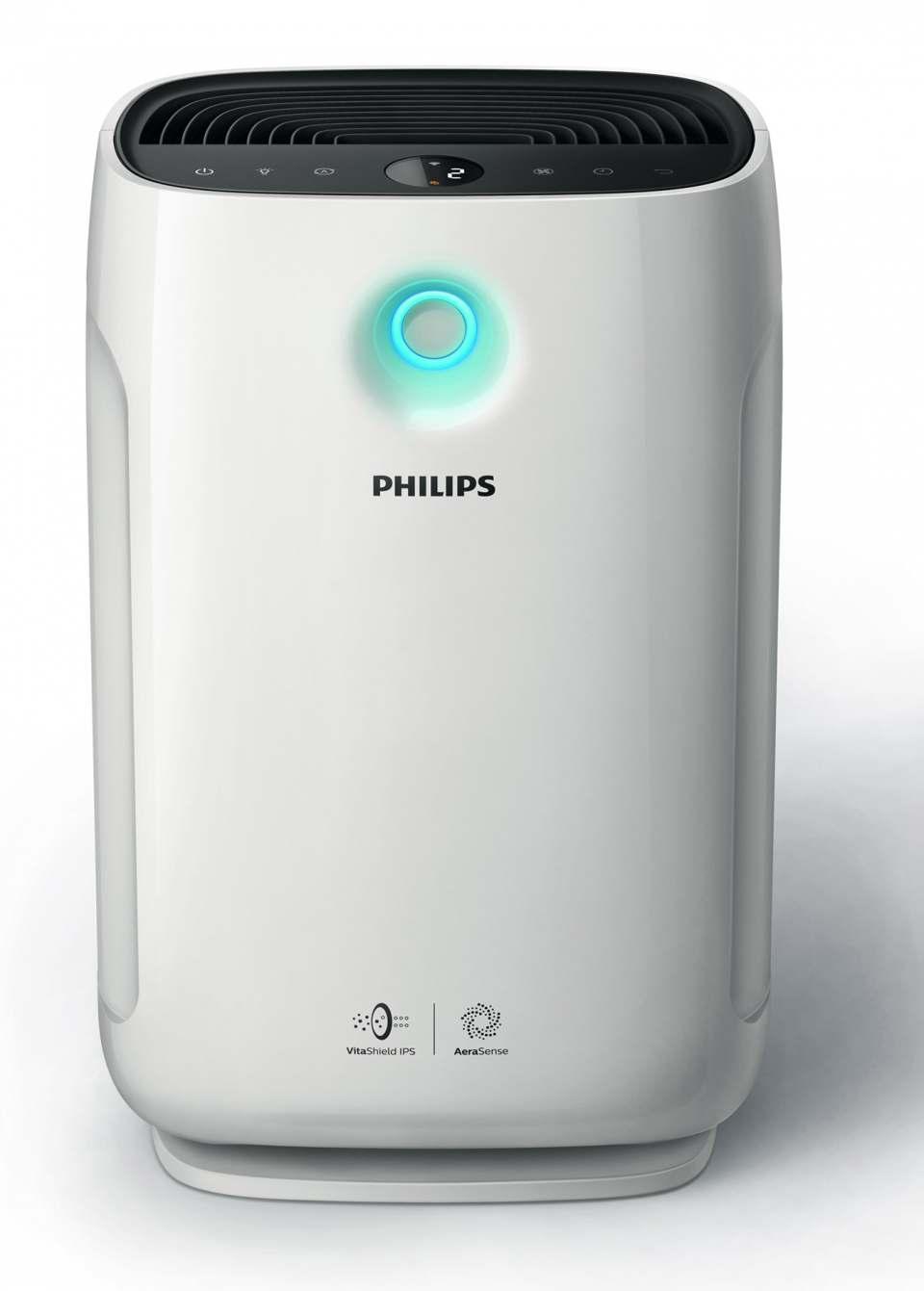 Philips Luftreiniger Serie 2000 mit Steuerung über App.