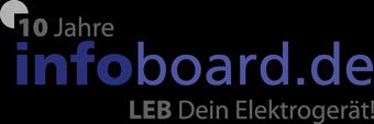 Logo 10 Jahre infoboard.de