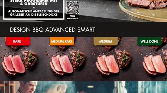 Datenblatt Gastroback Design BBQ Advanced Smart