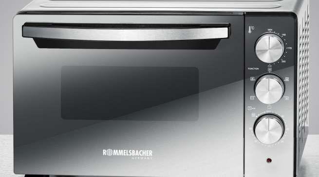 Back & Grill Ofen BGS 1400 (mit Drehspieß & Umluft)