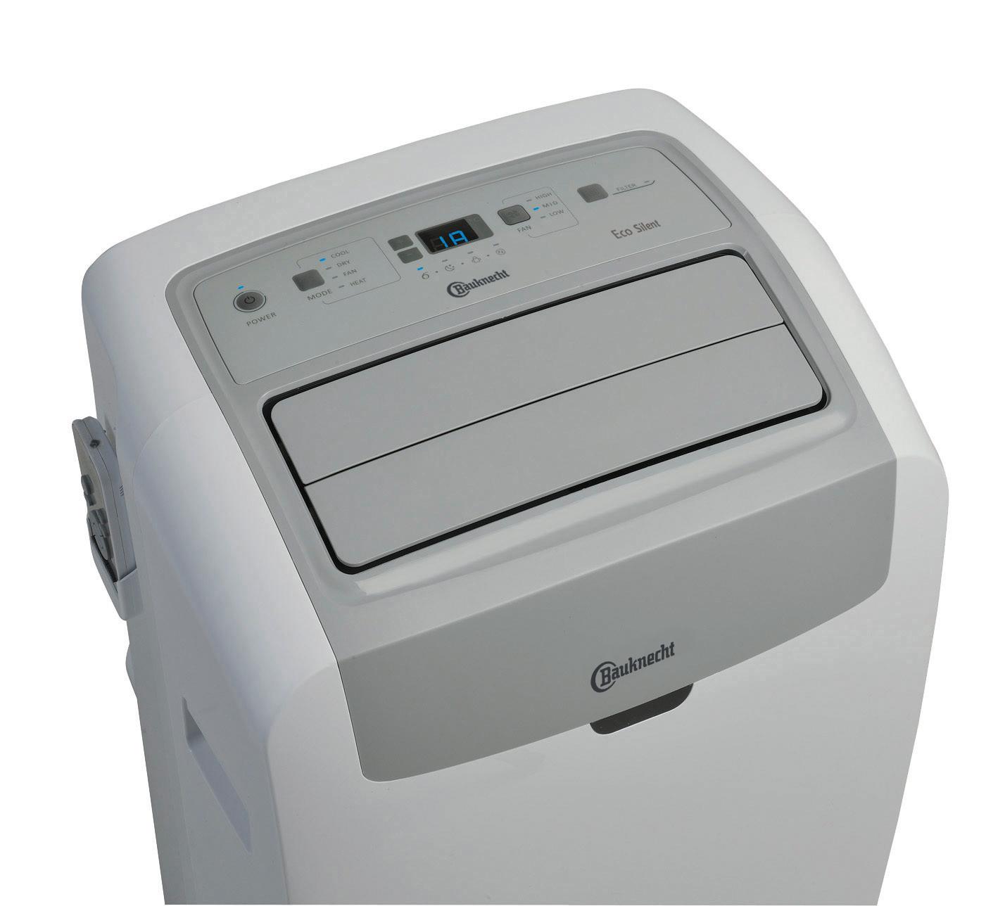 Bauknecht Klimagerät PACW29HPBK zum Kühlen, Lüften, Entfeuchten, Heizen.
