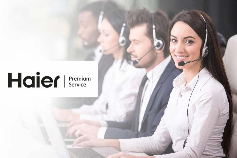 Mehr Service für Händler und Kunden: Haier Premium Service.