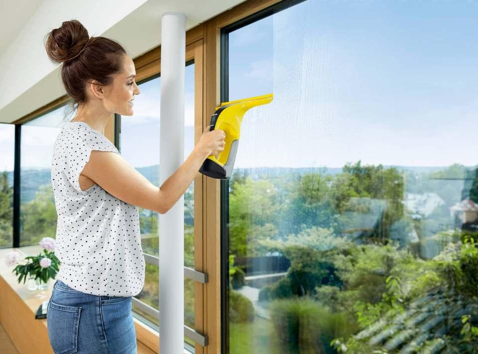 Fensterputzen leicht gemacht: Kärcher gibt Tipps.
