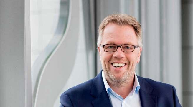 Spricht darüber, wie Hersteller und Händler das neue Zuhause-Gefühl stärken: Volker Klodwig, Executive Vice President Sales BSH Home Appliances.