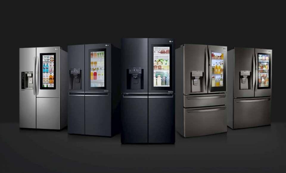 1 Million verkaufte Geräte: LG Kühlschrank InstaView Door-in-Door.