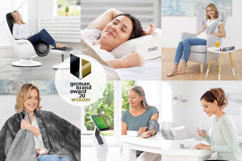 Doppelt ausgezeichnet: German Brand Award und Most Innovative Brand für Medisana.