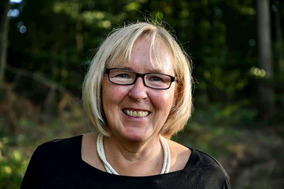 Sabine Kraft-Marhenke, Geschäftsführerin von ABC Schuhe in Büdingen