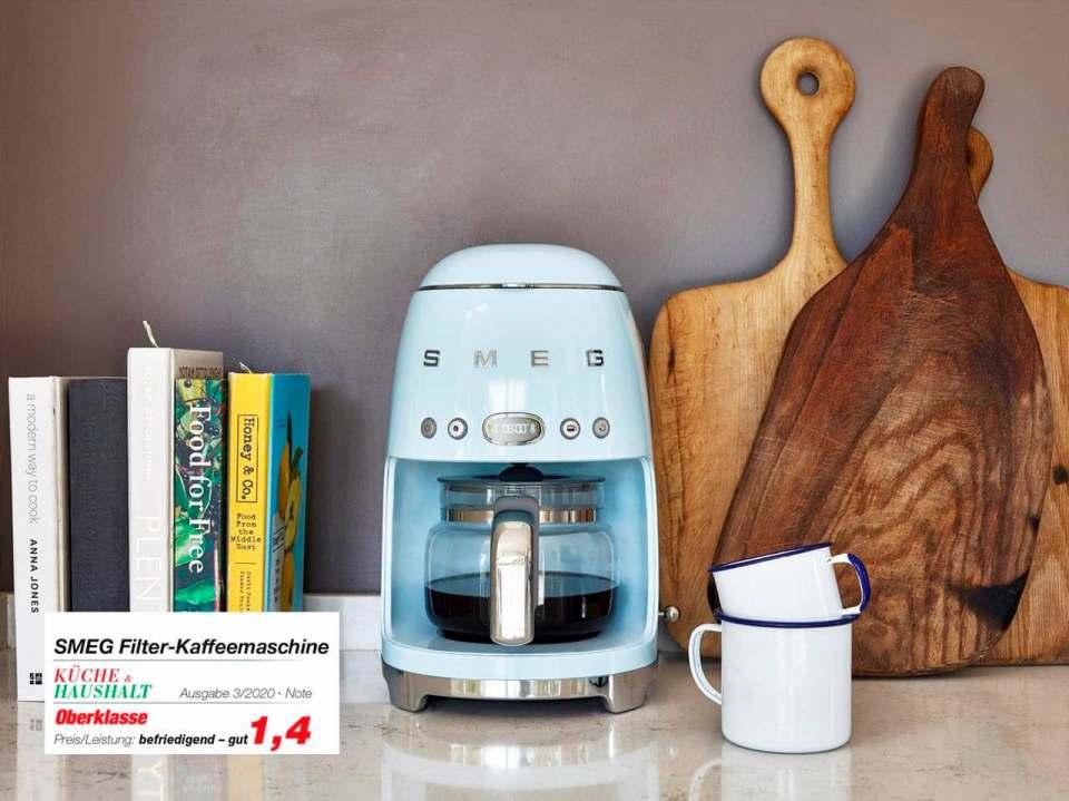 Testnote 1,4 für Filter-Kaffeemaschinen von Smeg.