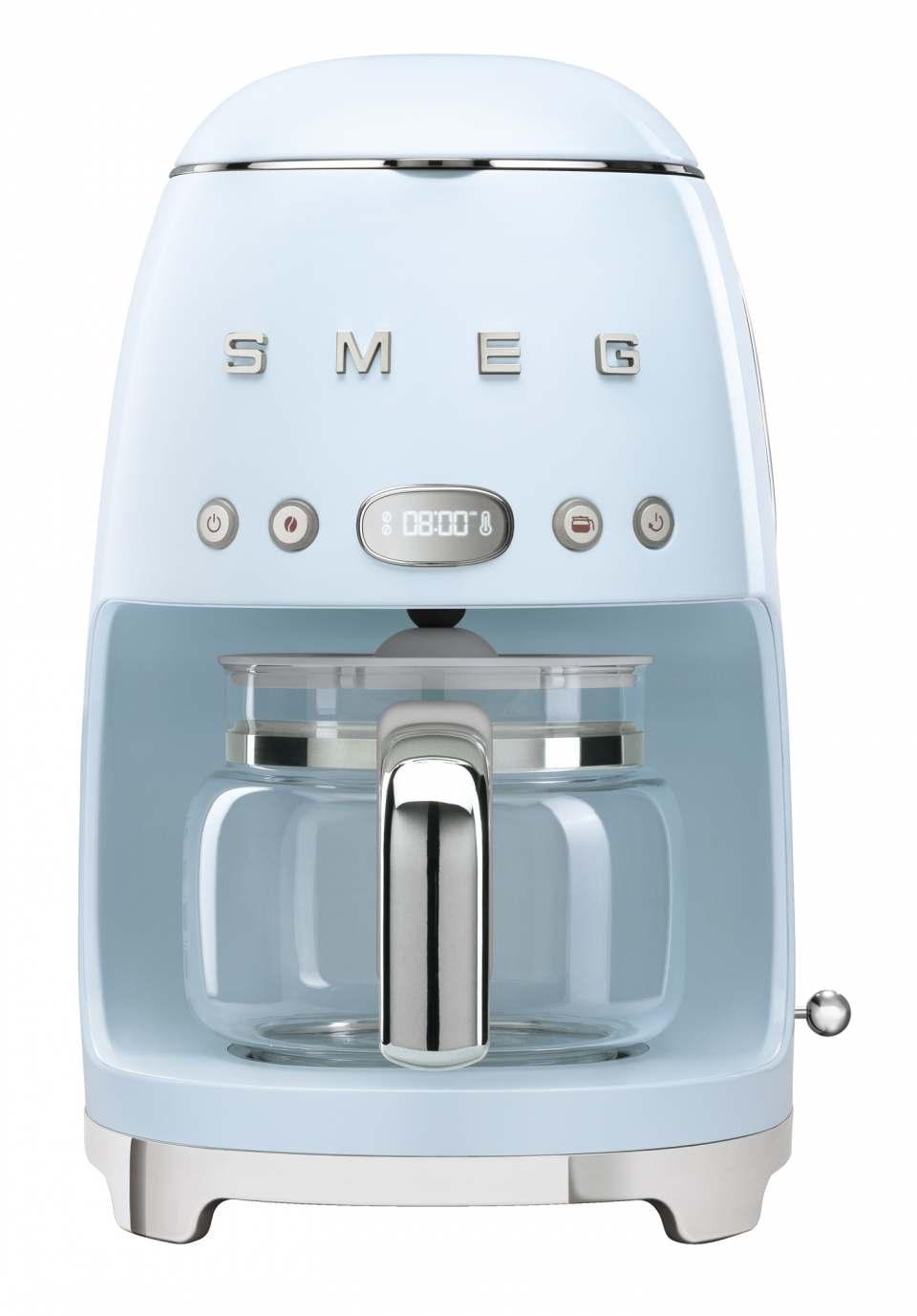 Smeg Filterkaffeemaschine DCF02 im Stil der 50er Jahre.