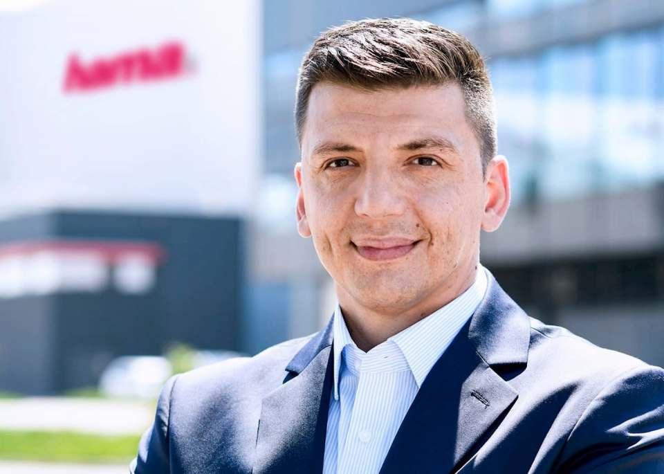 Ab sofort in der Geschäftsführung von Hama: Christian Sokcevic.