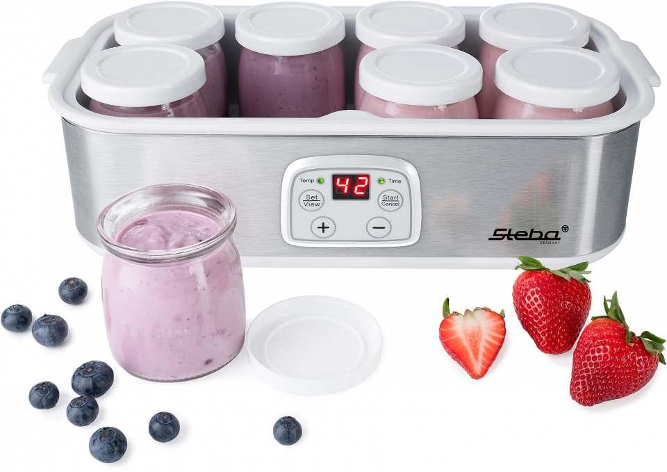 Steba Joghurt-Maker JM 3 mit 8 Behältern.