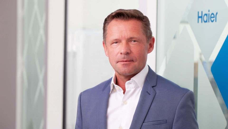 Thomas Wittling freut sich, dass Haier im Rahmen der Global Press Conference seine neuesten Produkte und Technologien direkt vor Ort in Berlin präsentieren kann.