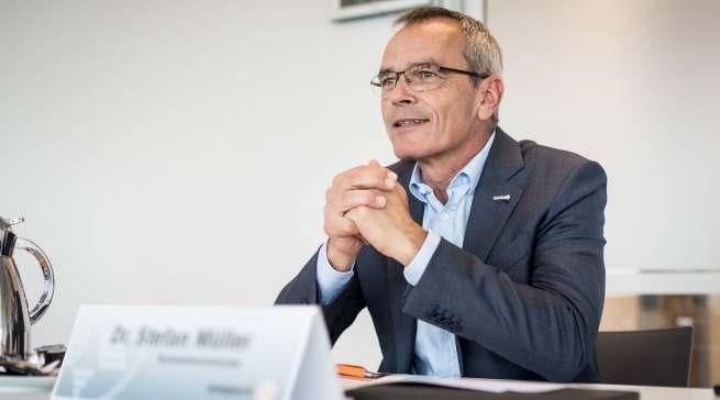 """Expert-Vorstandsvorsitzender Dr. Stefan Müller im infoboard.de-Gespräch: """"Die IFA ist für uns als internationale Leitmesse der Branche, als Innovations- und Kommunikationsplattform ein absolutes Muss."""""""