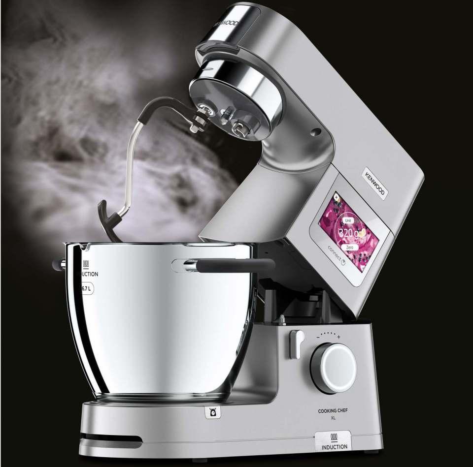 Ein Statement: Die Küchenmaschine Cooking Chef XL von Kenwood ist ein starker Küchenpartner für anspruchsvolle Back- und Kochfans.