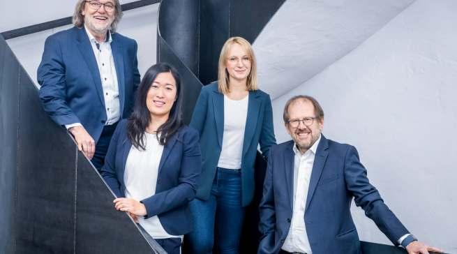 Die Geschäftsführung des Sauerländer Familienunternehmens (v.l.): Hermann Graef, Johanna Graef-Krengel, Franziska Graef und Andreas Schmidt.