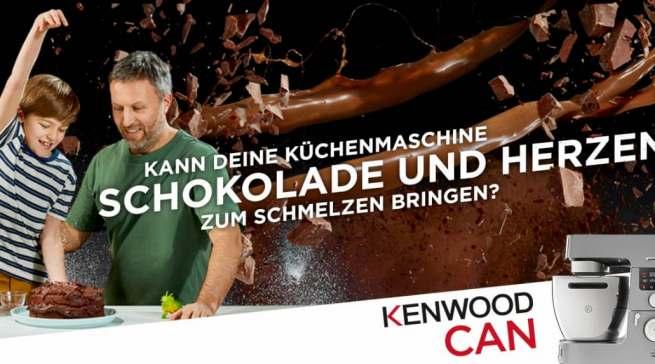 """Läuft: die """"Kenwood Can""""-Markenkampagne"""