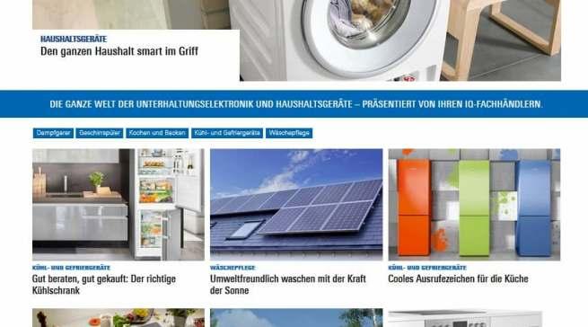 Um den Fachhändlern den smarten Zugriff auf die Ratgeberplattform KLIQ.de zu ermöglichen, wird der Homepagegenerator der IQ-Homepages neu programmiert.