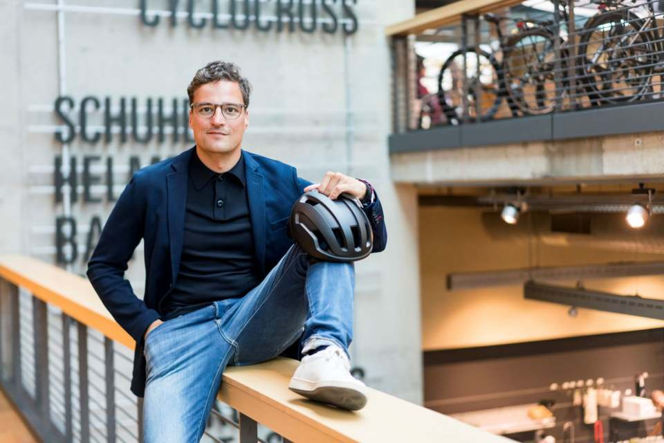 Gehört zu den Referenten: Marcus Diekmann vom Digital-First Fahrradhändler Rose Bikes.