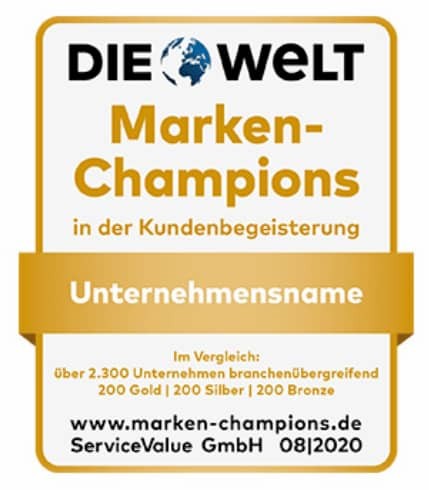 Zählen zu Deutschlands Marken-Champions: Weber, Jura, WMF.