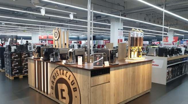 Sieht so die stationäre Zukunft aus? Blick in den komplett renovierten MediaMarkt in Ingolstadt.