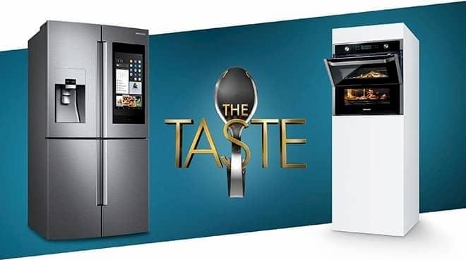 Samsung-Kampagne in The Taste auf Sat.1.