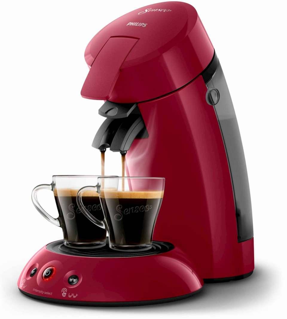 """Im StiWa-""""test"""": 13 Portionskaffeemaschinen, unser Foto zeigt die Senseo von Philips."""